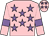 Pink, mauve stars and armlets